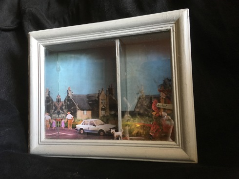 Accident (shadow box)